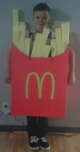 My kids are so going to have this French Fry Costume