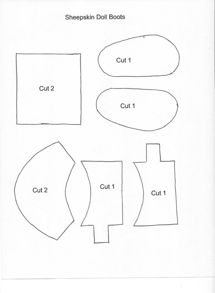 Image result for Free American Girl Shoe Patterns Doll