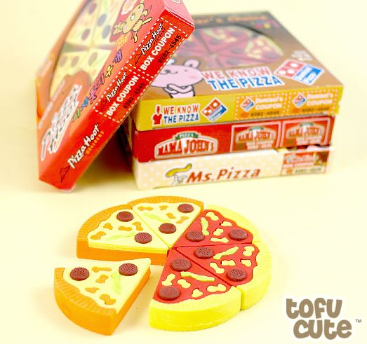 Pizza Eraser Set | 33 Impossibly Cute Products You Need For Your Desk
