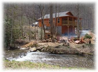 REALLY like this one!!  Yellow Creek Cabin, Secluded, on Creek, N.C. Trout Stream   Robbinsville, North Carolina Vacation Rental by Owner Listing 165477