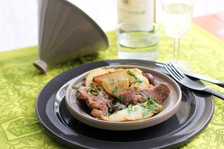 Lamb Tajine with Pears | Lamb, Pears and Chard Recipes