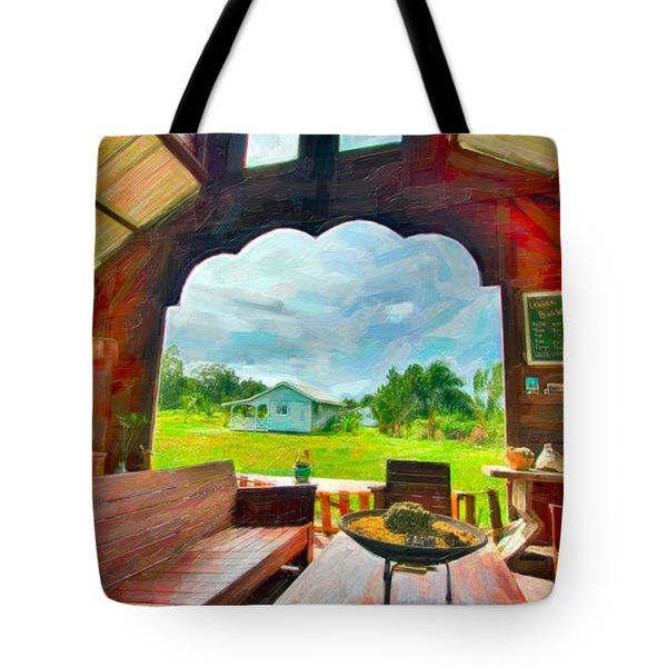 Tote Bags - Room with a View Tote Bag by Nadia Sanowar
