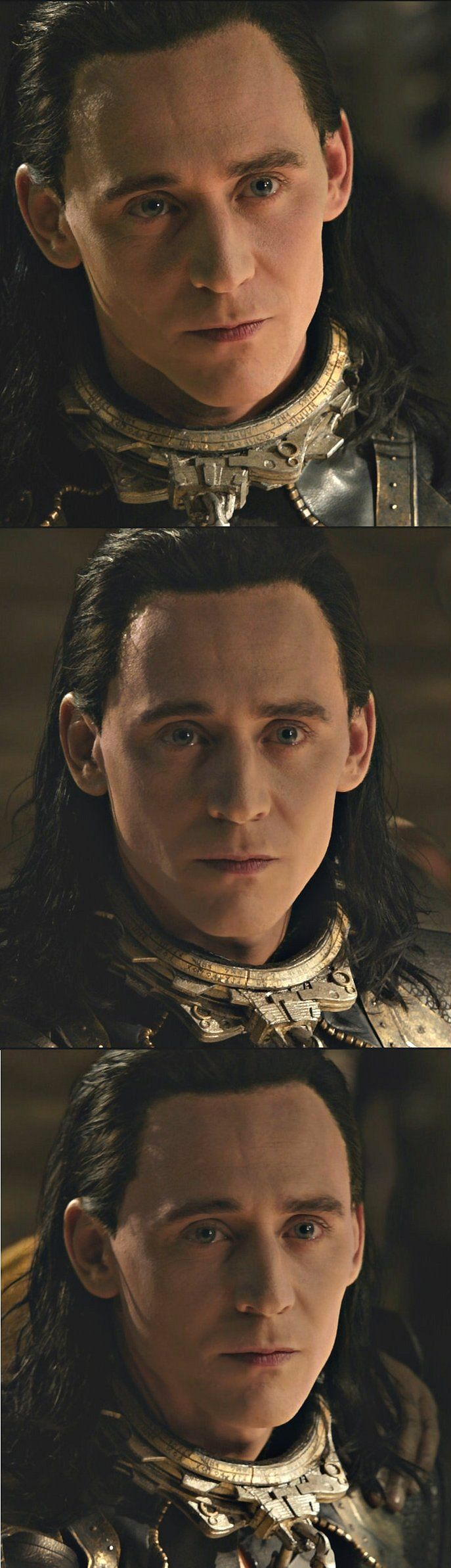 "Tom Hiddleston ""Loki"" Large stills from ""The Dark World"" from http://ask-son-of-laufey.tumblr.com/post/84576176224"