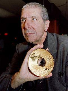 Leonard Cohen 24-carat-gold