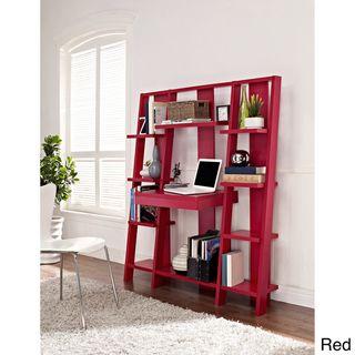 Altra Ladder Bookcase/ Desk | Overstock.com Shopping - The Best Deals on Desks- (Espresso not red)