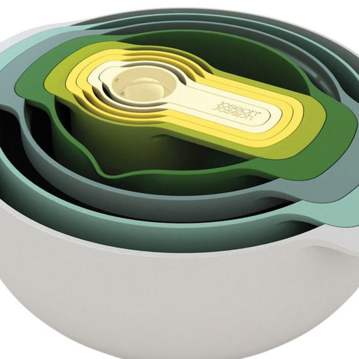 Joseph & Joseph® 9-pc Nesting Bowl Set - $120 - Brand New - Free Shipping