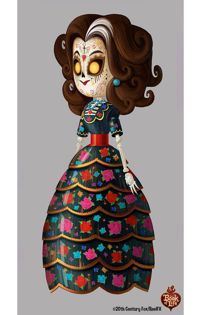 Concept Arts de The Book of Life, por Alison Donato | THECAB - The Concept Art Blog