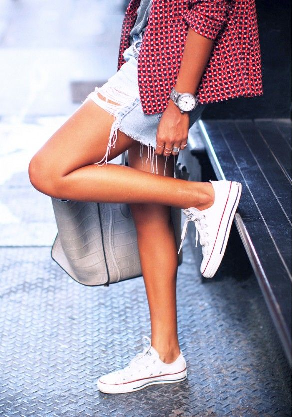 The 5 Shoes Styles You'll Wear Forever via @WhoWhatWear   2. Sneakers Nothing adds a relaxed air to your outfit like a pair of classic Chucks.