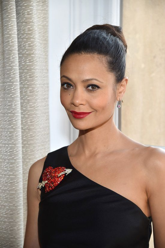 Thandie Newton at the Schiaparelli Spring 2017 Couture Show is Crazy Fierce From the Ankles Up | Tom + Lorenzo