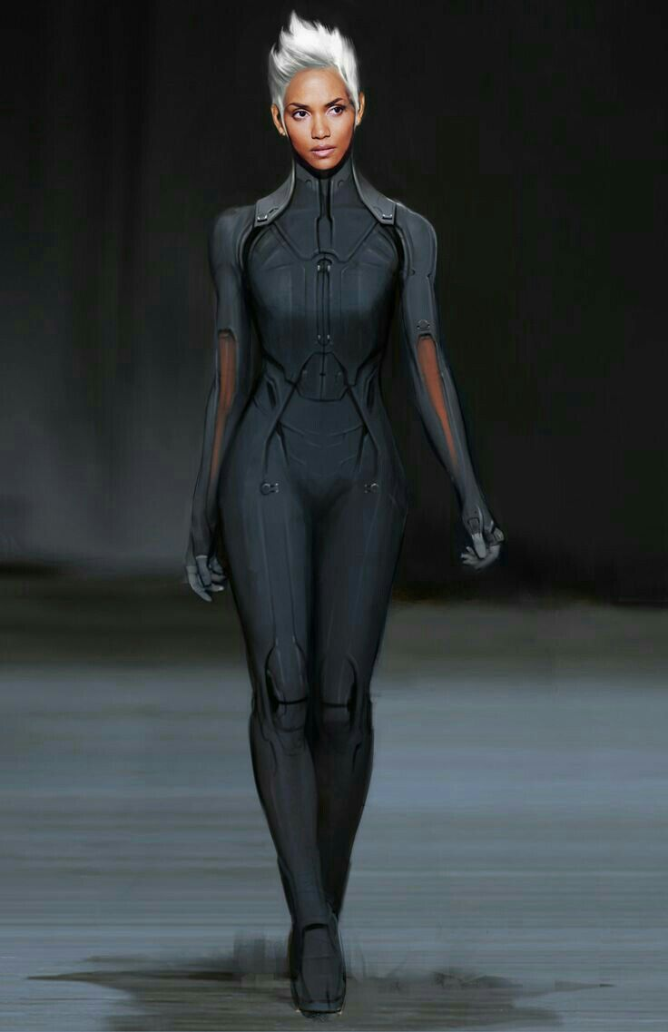 Afrofuturism Art And Cyberpunk - Afrofuturism Cyberpunk Storm X-Men Source by PewPewUrDead - Cyberpunk Mode, Cyberpunk Fashion, Cyberpunk Kunst, Inspiration Mode, Character Inspiration, Fashion Mode, Fashion Outfits, Futuristic Outfits, Futuristic Costume
