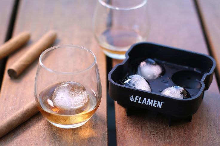 Take happy hour to another level with our Flamen Ice Ball Easy-Release Tray   Aspectek