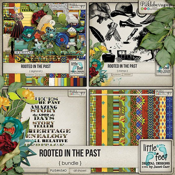 Rooted In The Past Bundle