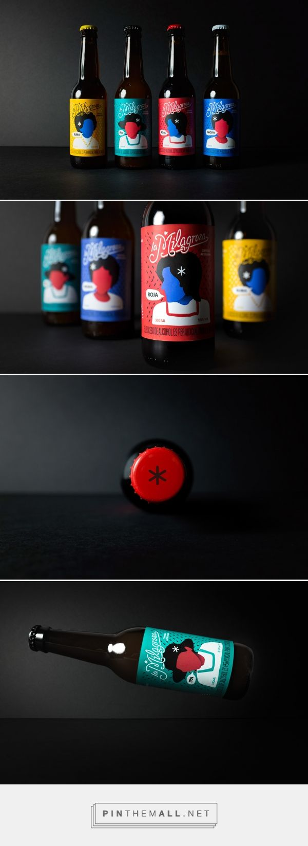 La Milagrosa / La Milagrosa is a beer done with love in the capital of Colombia – Bogotá. design by Tata&Friends