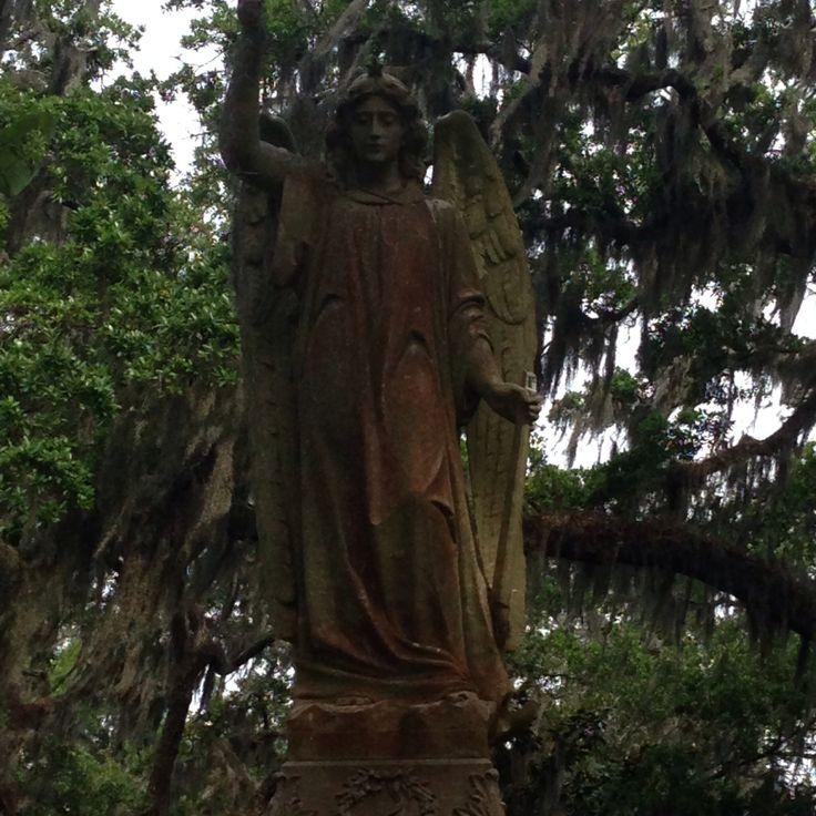 Statue at Bonaventure cemetery