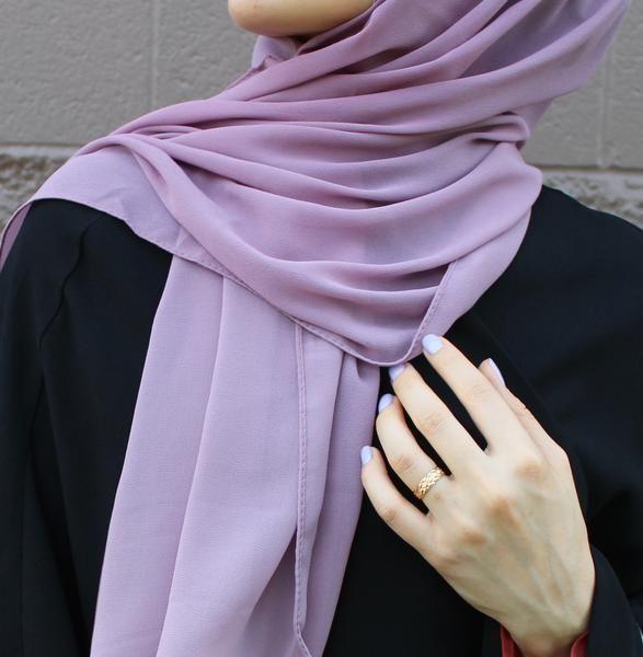 """Abu Dhabi"" Chiffon Hijab - The Hijab City"