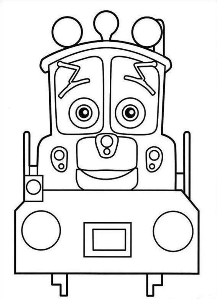 Chuggington 04 Coloring Page