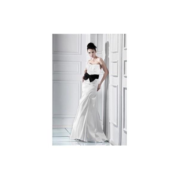 Awesome Ksenia's Trumpet/Mermaid Sweetheart Floor-Length Chapel Sash... ($87) via Polyvore