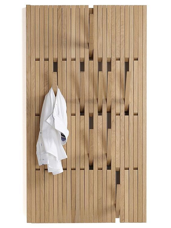 Piano Wardrobe - A very clever way to hang your stuff.