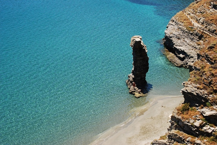 Grias Pidima beach, one of the most popular!