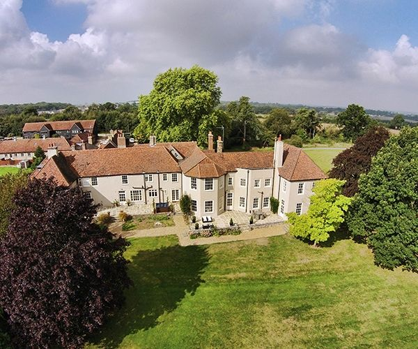 An Aerial Shot Of That Amazing Place Wedding Venue In Essex