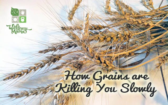 Grains are often considered a healthy food, but with their high content of phytic acid, anti-nutrients and lectins, they can cause severe digestive and autoimmune problems for many people.
