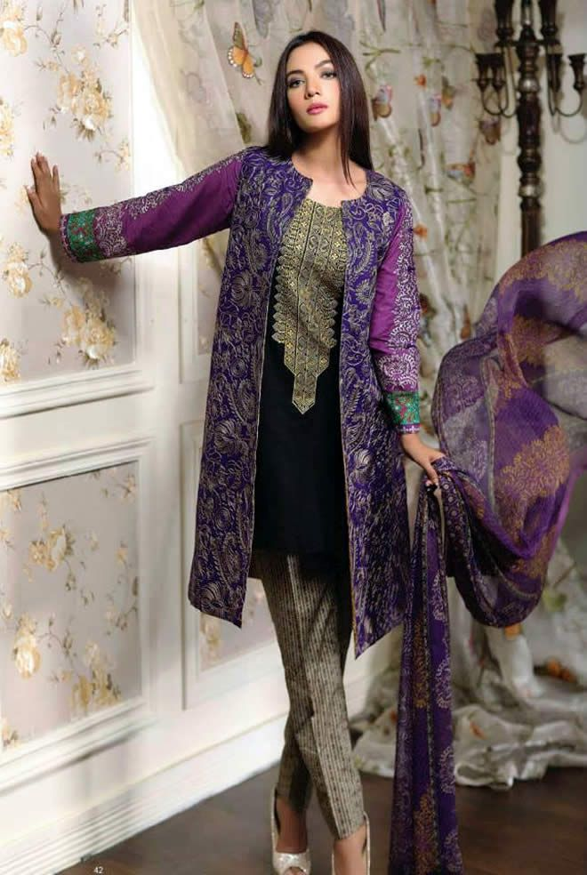 db3580c50 Pakistani Stylish Dresses For Women 2016