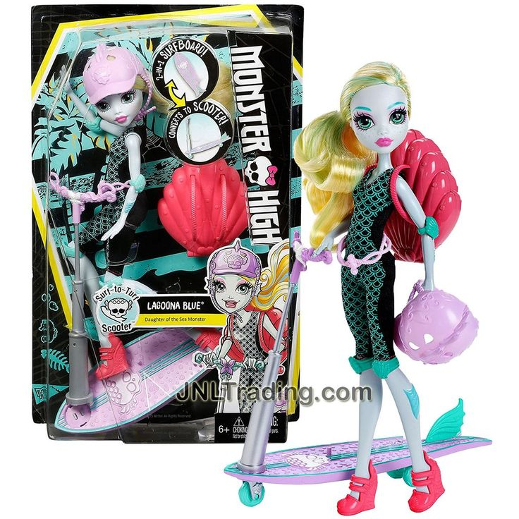 Mattel Year 2015 Monster High How Do You Boo Series 10 Inch Tall Doll Set :