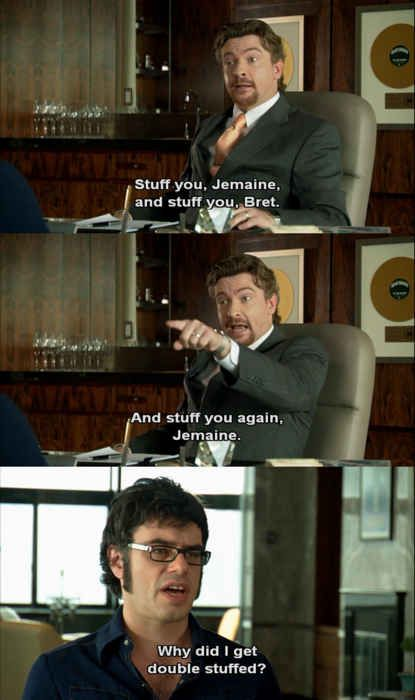 "BUT he always keeps it polite - even when he's angry. | 15 Reasons Murray From ""Flight Of The Conchords"" Is Your Spirit Animal"