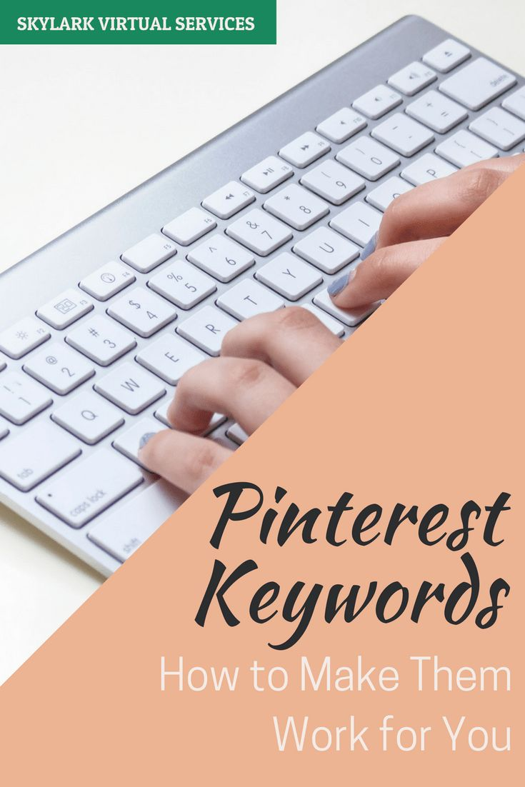 Pinterest keywords are as crucial as search engine keywords - they tell Pinterest about you, your profile, your boards and your pins.  Here's a look at the basics of Pinterest SEO and how to optimise your Pinterest profile with them.