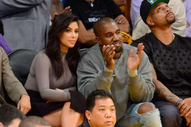 Kim Kardashian and Kanye West - Noel Vasquez/Getty Images