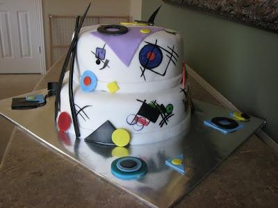 Kandinsky cake