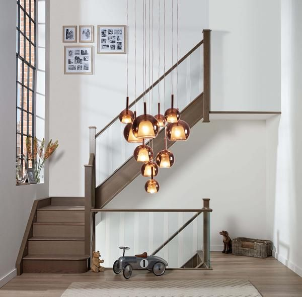 Stairwell Chandeliers Inspiring Ideas To Light Up Your Stairway Stairwell Chandelier Stairway Lighting Staircase Chandelier