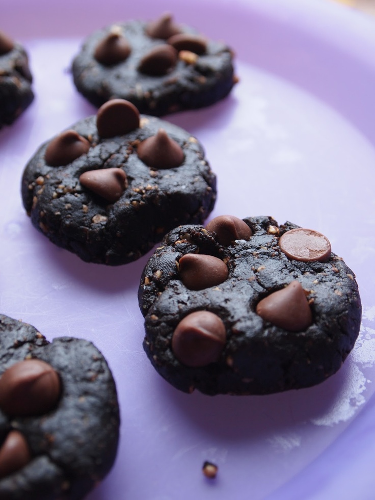 Peanut Butter Chocolate Fudge Cookies (Vegan, Gluten Free, Sugar Free)