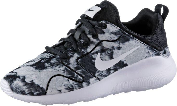#Nike #WMNS #Kaishi 2.0 #Print #Sneaker #Damen #schwarz/weiß