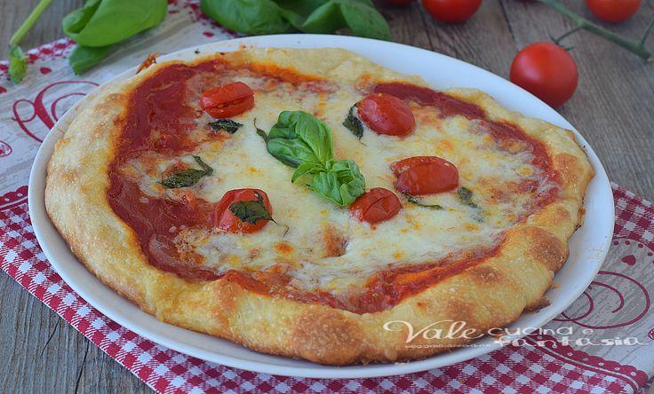 Pizza fatta in casa con 2 grammi di lievito