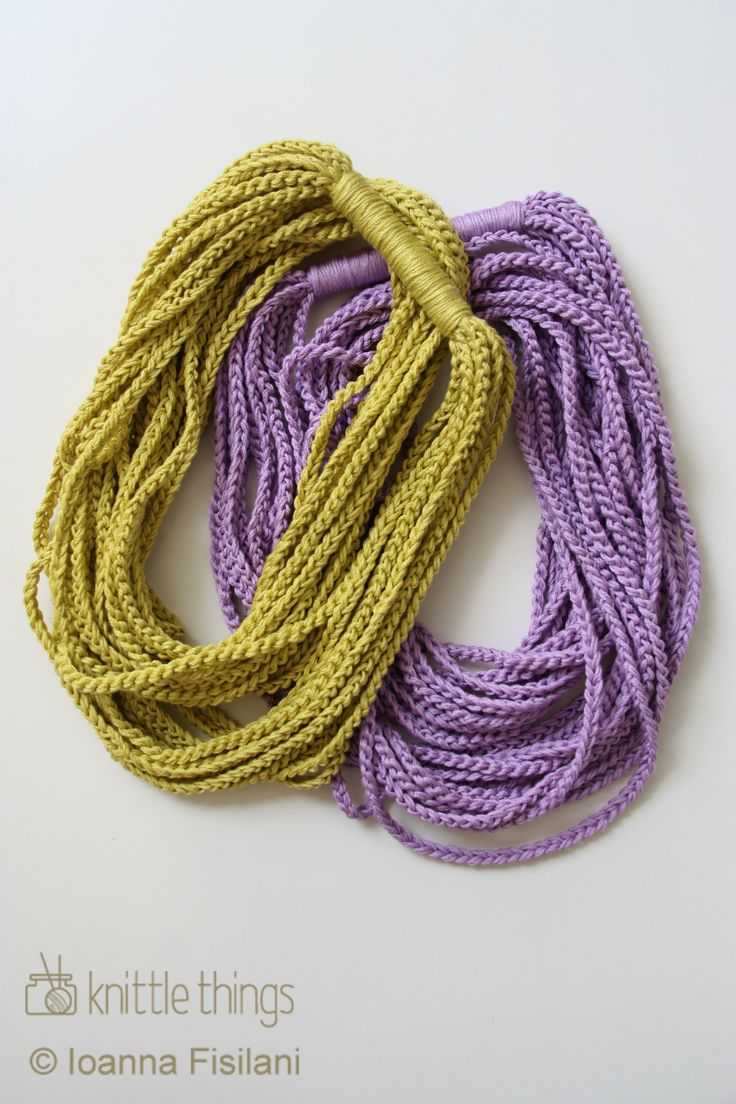 knittle things infinity scarf | crochet | cotton