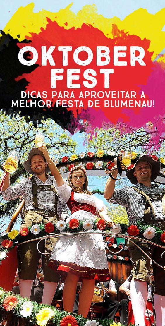 Dicas Oktoberfest em Blumenau! Veja o que comer, beber e como se vestir para pagar meia na entrada!