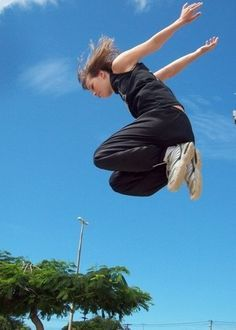 girl parkour - Google Search