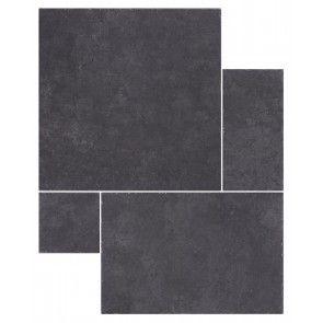lake district modular black ( floor tiles )
