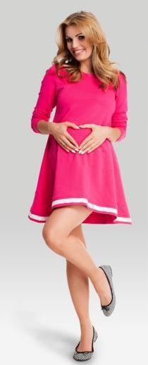 Petit berry хлопковая туника для беременных и кормящих