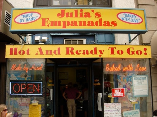 Julia's Empanadas - 1221 Connecticut Ave NW, Washington DC 20036