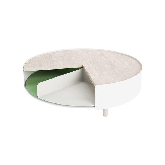 Times 4, designer Gonçalo Campos. Times 4, une table basse qui s'adapte à son humeur. D'un tour de main,on accède à ce que l'on veut. En un quartde temps,on change son intérieur.Un plateau pour poser et voir.Un autre tournant en fonctionde l'heure, de l'humeur et de la couleur.Quatre manières de changer d'universsans changer ce point central de l'intérieur. Times 4 est une table basse ronde de 83cm de diamètre et de 26cm de hauteur. Elle se compose d&...