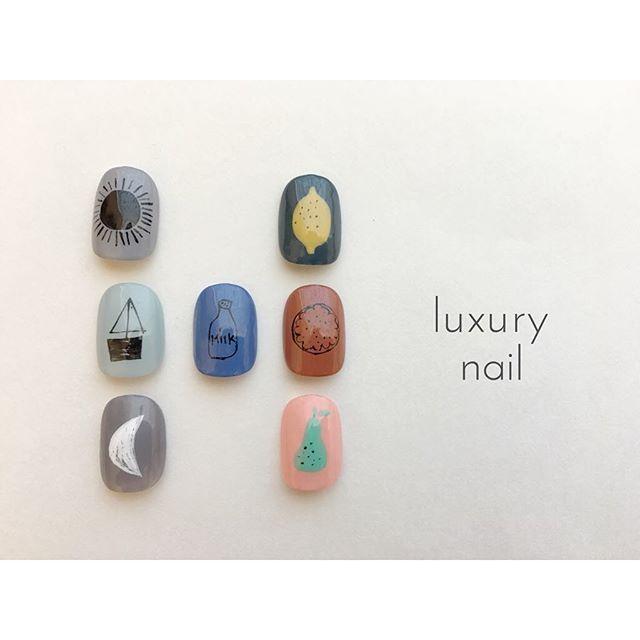 【 Summer Art 】 ________________________________ luxurynail HP https://luxurynailsalon.shopinfo.jp ☎︎090-2592-5257(予約専用) ・ #nailart#naildesign#culture#japan#nail#nailsalon#nailartist#art#design#japanesenailart#gelnails#japanesenailartist#casualnail#fashion#artwork#ネイル#ネイルアーティスト#ネイルアート#作品#アートワーク#ネイルサロン#カジュアルネイル#ショートネイル#手書きアート#ジェルネイル#パラジェル#paragel#大人カジュアル#遊び心#カジュアル