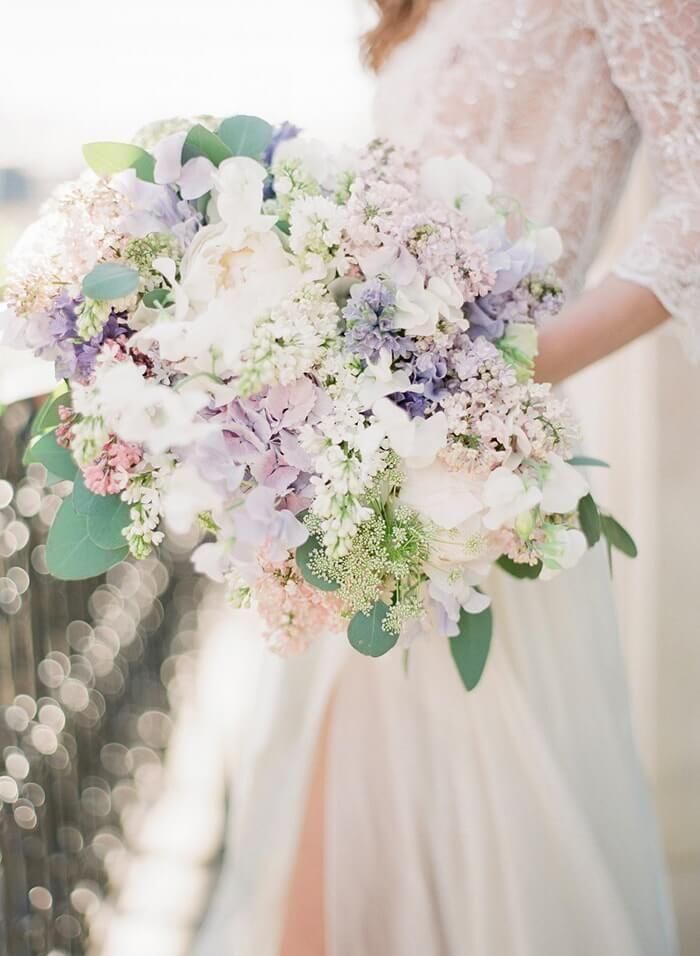 Pastel Wedding Inspiration in Paris