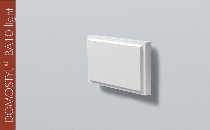 DOMOSTYL® BA10 light / H 250 x W 45 mm / L 45 mm
