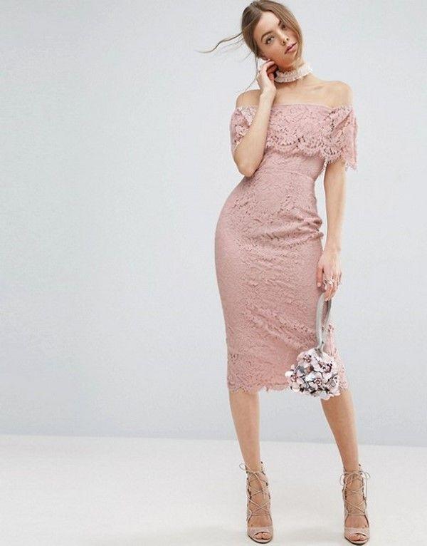 fb30162f4c1a332 Трендовые платья миди 2018-2019 года, модные луки с миди платьями, новинки,  фото | GlamAdvice