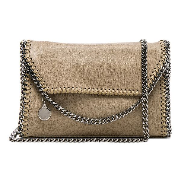 Stella McCartney Mini Shoulder Bag (29,015 THB) ❤ liked on Polyvore featuring bags, handbags, shoulder bags, stella mccartney handbags, man bag, mini shoulder bag, handbags shoulder bags and brown hand bags