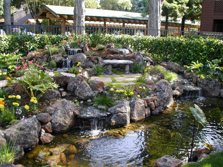 landscape water features alexander sons water feature fall landscaping services portfolio