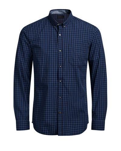 - Langarmhemd, ideal für den klassischen Look - Strapazierfähige Baumwolle – weich, atmungsaktiv - Detailliert mit Standardkragen und Brusttasche - Das Model ist 187 cm groß und trägt Größe L - Trage mit Chinos oder Jeans und Sneakers