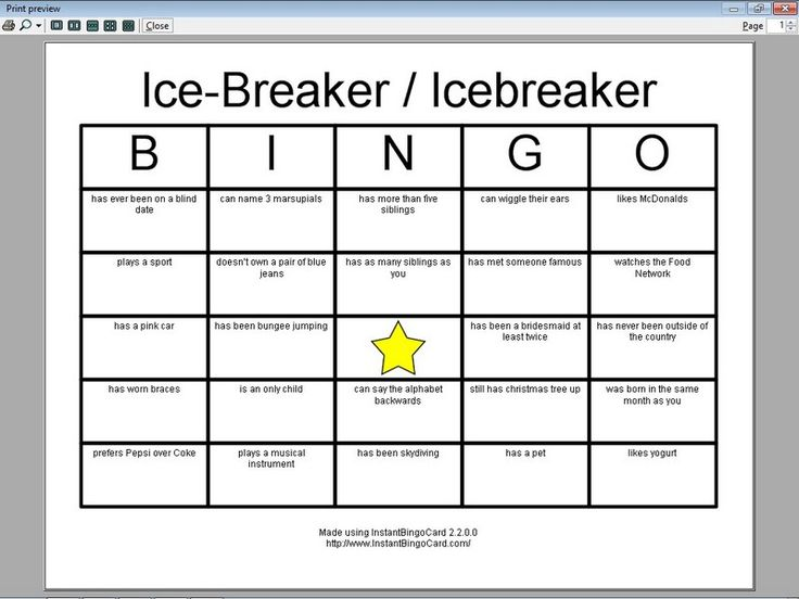 Back to school: people bingo - jeriwb, People bingo is a great icebreaker activity that can be